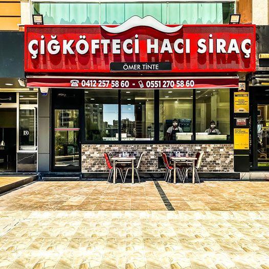 Çiğköfteci Hacı Siraç Ömer Tinte' nin yeni şubesi Nazım Hikmet Caddesi' nde hizmete başladı.